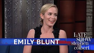 Emily Blunt Finds The Idea Of Mary Poppins A Little Creepy