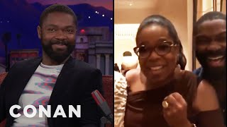 Oprah Visited David Oyelowo's Mom At The Hospital  - CONAN on TBS