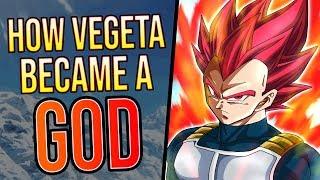 How Vegeta Became Super Saiyan God