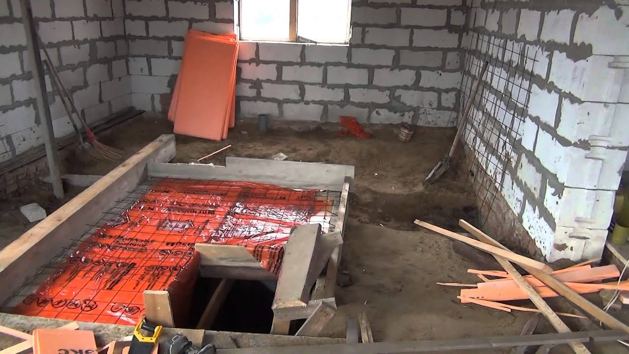 Овощная яма в гараже из кирпича своими руками