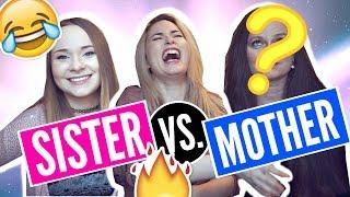 Wer kennt mich besser? | SISTER VS MOTHER | (enttäuschendes Ergebnis)