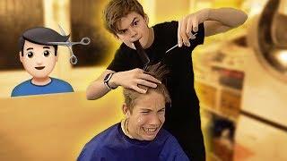 Ich rasiere Ben die Haare... 💇🏻♂️😳 | Oskar