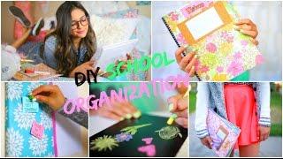 Back To School Diy Organizati