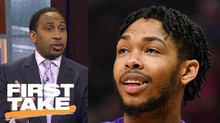 Stephen A. Smith confesses being wrong about Brandon Ingram | First Take | ESPN