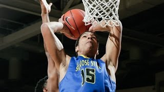 Mountain West Basketball Top 3 Plays Of The Week   January 15, 2017