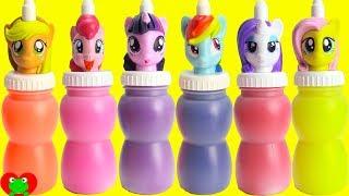 My Little Pony Slime Surprises MLP Twilight, Pinkie Pie, Rainbow Dash