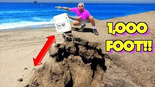 ABANDONED SAFE DROPPED OFF MOUNTAIN!! 10,000 Foot Drop Test!