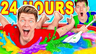 Mixing $10,000 of Slime Challenge & Learn How To Make A Pool of Diy Giant Mystery Slime
