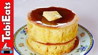 How to Make Japanese Pancakes (Souffle Pancake Recipe)