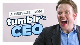 Tumblr CEO: No More Porn