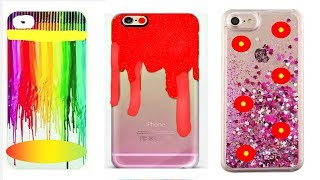 DIY Phone Case Life Hacks! Phone Case Design and Decorations - Mobile Cover Designs (COMPILATION!)