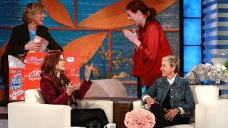 Ellen Wants Debra Messing