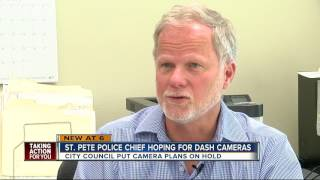 Dash cams, body cams rejected in St. Pete despite national trends