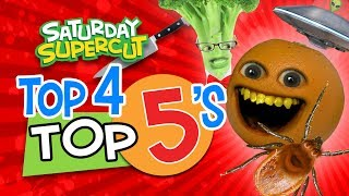Annoying Orange - Top 4 Top 5