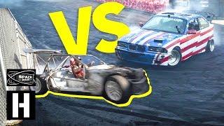 Sh*tcar vs ShartKart Drag Race! Who is Faster?