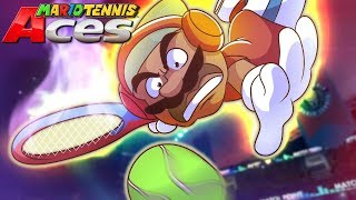 THIS GAME HYPE AF MY BOYS!! [MARIO TENNIS ACES]