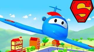 Die Lackierwerkstatt von Tom dem Abschleppwagen: Penny ist Supergirl | Lastwagen Cartoons für Kinder
