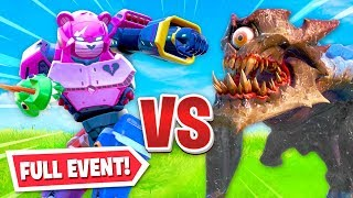 ROBOT vs MONSTER - LIVE EVENT in Fornite! (INSANE)