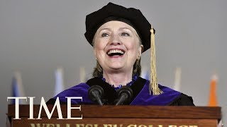 Hillary Clinton Threw Shade At President Trump At Wellesley