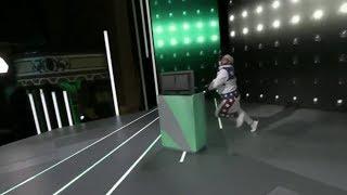 Ubisoft Trials Guy Falls Over At E3