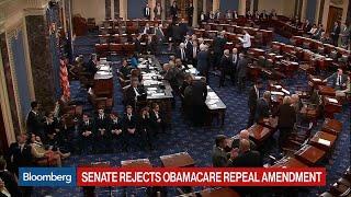 Senate Rejects Obamacare Repeal Amendment