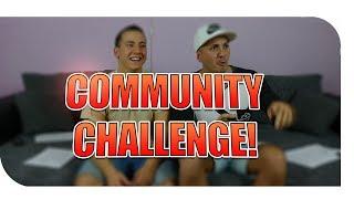 WIR WERDEN GEFRAGT IHR ANTWORTET | COMMUNITY CHALLENGE