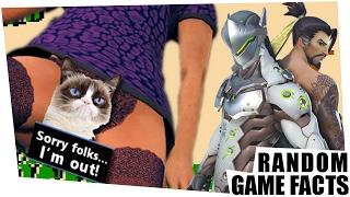 Gesperrt wegen Digital-Vagina & krasse Cyborg-Ninjas - Random Game Facts #77