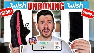 Fans Spend My Money for 24 Hours UNBOXING!! (TESTING KNOCK OFF TECH AND DESIGNER FROM WISH $1000)