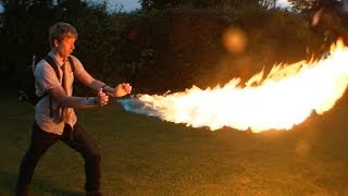DIY X-MEN PYRO shooting 12ft flames from your wrist