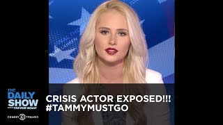 CRISIS ACTOR EXPOSED!!! #TAMMYMUSTGO