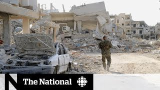 What ISIS left in Raqqa: Torture rooms, bodies and booby traps