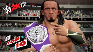 Dramatic High Flying Dives: WWE 2K17 Top 10
