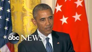 President Obama Puts Pressure on GOP to Denounce Donald Trump