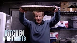 Gordon Finds Mushroom Risotto STUCK TO THE TRAY!   Kitchen Nightmares