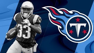Dion Lewis Welcome to the Tennessee Titans | NFL Free Agent Highlights