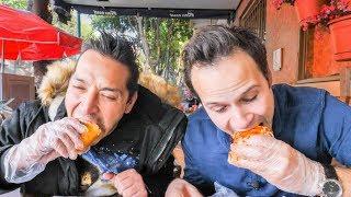 INSANE Street Food CHALLENGE in Mexico City | SCORPION Salad, BEST Mexican Sandwich + Chicken Feet!