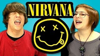 TEENS REACT TO NIRVANA