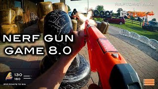 Nerf meets Call of Duty: Gun Game 8.0   First Person in 4K!