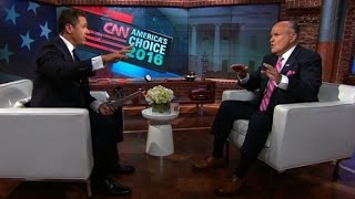 Rudy Giuliani argues with Chris Cuomo while defending Trump (full interview)