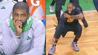 LeBron James EXPOSES KYRIE IRVING & THE CELTICS IN NEW CAVS DEBUT! LEBRON JAMES VS KYRIE IRVING!