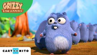 Grizzy und die Lemminge | Platztausch | Boomerang