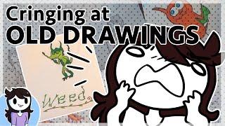 Cringing at My Old Drawings (100k Milestone)