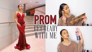 GET READY WITH ME: Prom Makeup + Dress Options ♡ Koleen Diaz