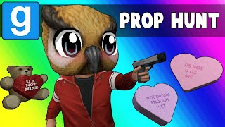 Gmod Prop Hunt Funny Moments - Date Night and Panda Malfunction (Garry