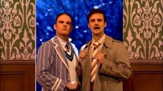 The Play that Goes Wrong performing at The Royal Variety Performance 2015