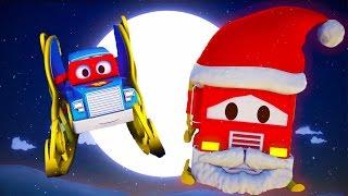 Carl der Transformer Truck und Der Schlitten vom Weihnachtsmann in Autopolis| Auto und Lastwagen
