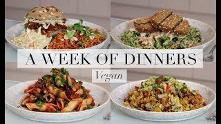 What I Ate for Dinner This Week #1 (Vegan/Plant-based)   JessBeautician