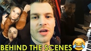 THE ORIGINALS SEASON 4 | ALL BEHIND THE SCENES VIDEOS COMPILATION | JOSEPH MORGAN, PHOEBE TONKIN