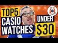 Top 5 Best Casio Watches Under $30!! (LO...mp3