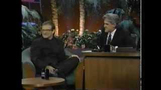 The Tonight Show Jay Leno  Robin Williams - Jumanji